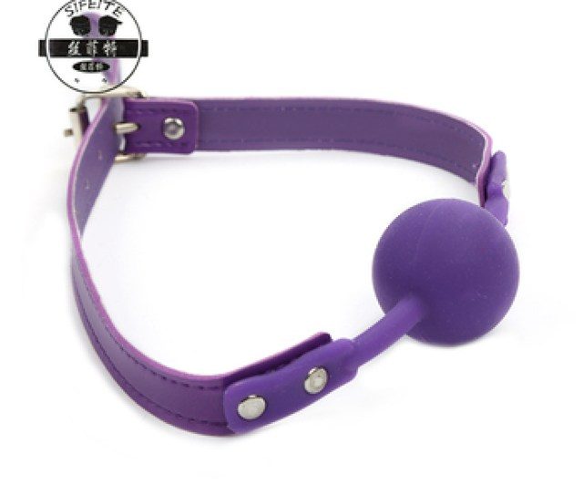 Adult Sex Products Submissive Toy Soft Open Mouth Silicone Bondage Ball Gag