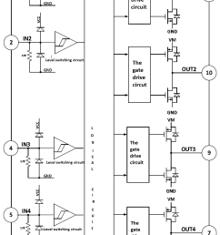 integrated circuit for pwm current in regular or limit 12v brushless dc motor controller [ 870 x 1447 Pixel ]