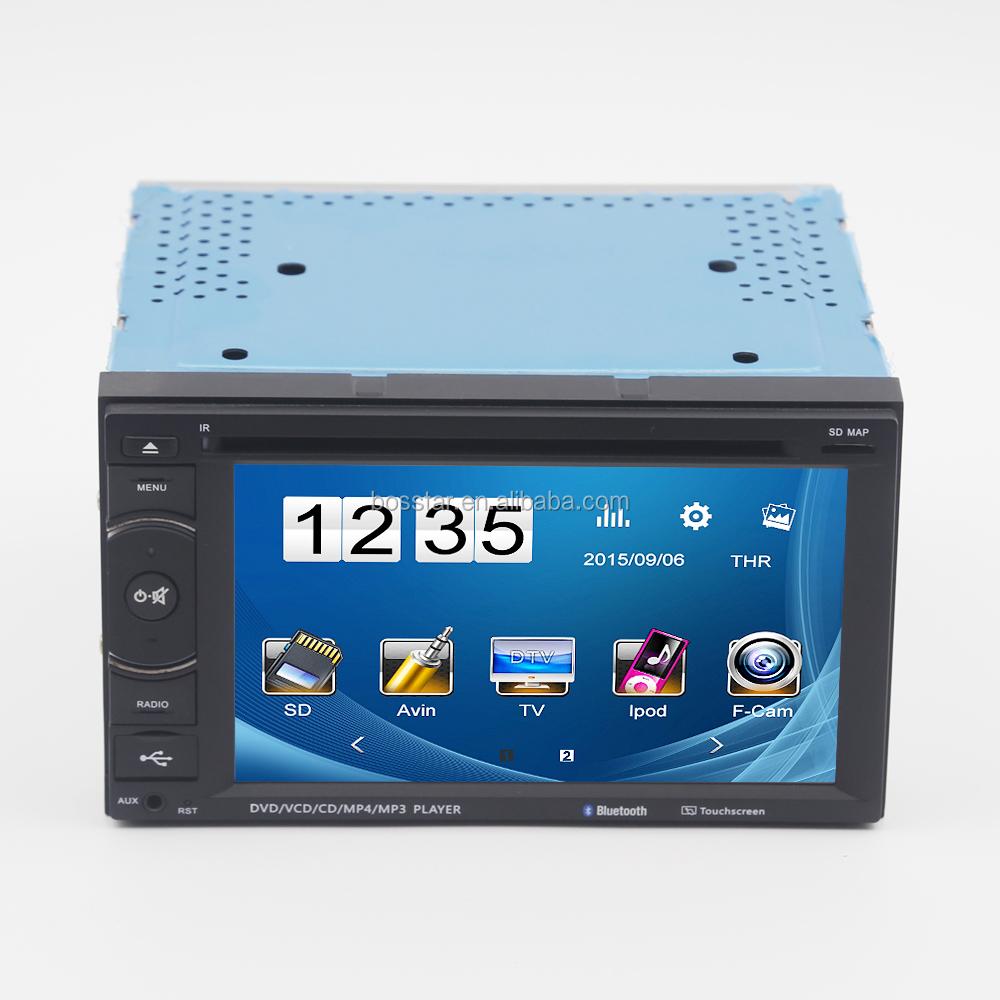 medium resolution of bosstar 6 2 inch double din still cool car video dvd player universal