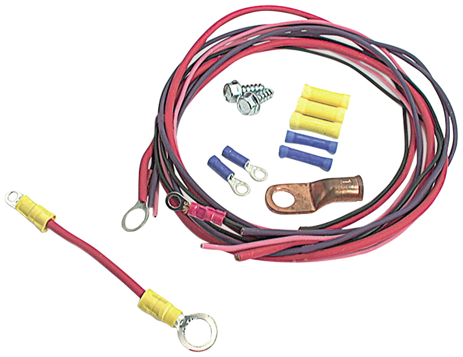 hight resolution of  wire harness car electronics fwh598 get quotations allstar all76201 solenoid wiring kit for ford style solenoid