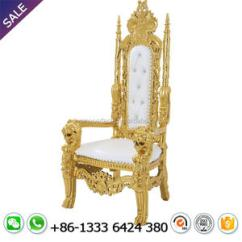 Alibaba Royal Chairs Rocking Chair Embroidery Design Red And Gold For Wedding Suppliers Manufacturers At Com
