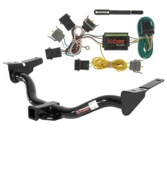 get quotations curt class 3 trailer hitch bundle with wiring for ford escape mazda tribute 13506 [ 1024 x 1024 Pixel ]