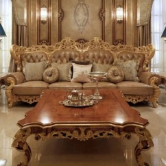 Gold Leather Sofa Set Circle Sectional Bed Decorating Interior Of Your House European Classic Style Royal Furniture Color Carved Wood And Rh Alibaba Com