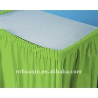 Polyester Wedding Table Skirting Table Skirts Table Linen ...