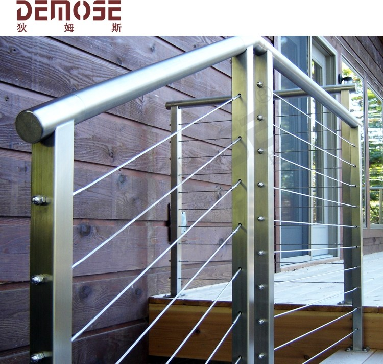 Hot Selling Steel Cable Railing Supplier Balcony Tension Wire | Tension Wire Stair Railing | Stainless Steel | Simple | Aluminum Commercial | Residential | Wire Balustrade