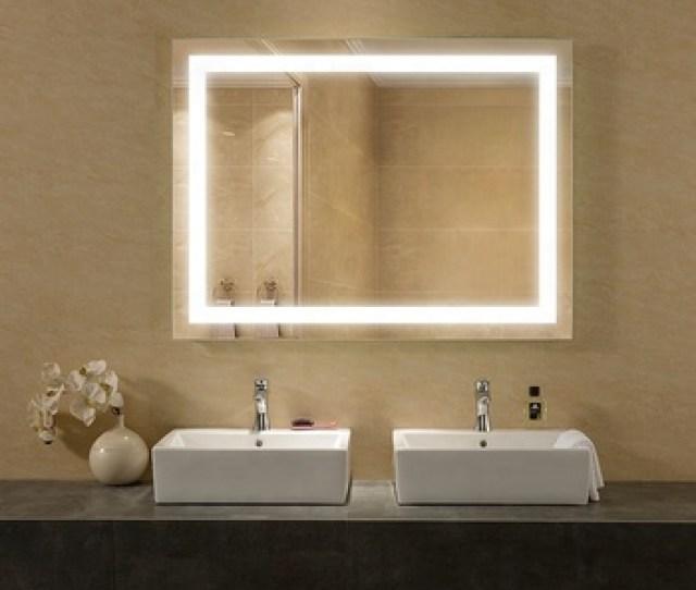 Interior Decor Lighted Bathroom Mirror With Tv