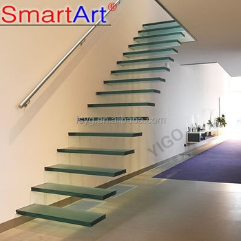 Floating Glass Stairs Price View Glass Stair Yigo Floating Glass | Glass For Stairs Price | Laminated Glass | Stairwell | Glazed | Outdoor | Toughened