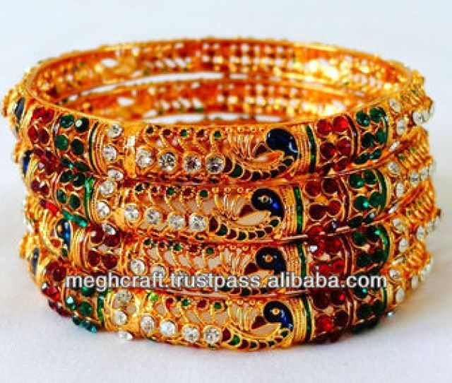 Peacock Style Bangles Indian Imitation Bangles One Gram Jewellery Indian Artificial Bangles Bracelets