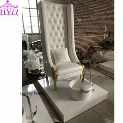 Spa Pedicure Chairs Canada Round Accent Chair 2018 Beauty Salon Golden Feet Wholesale White With Foot Basin