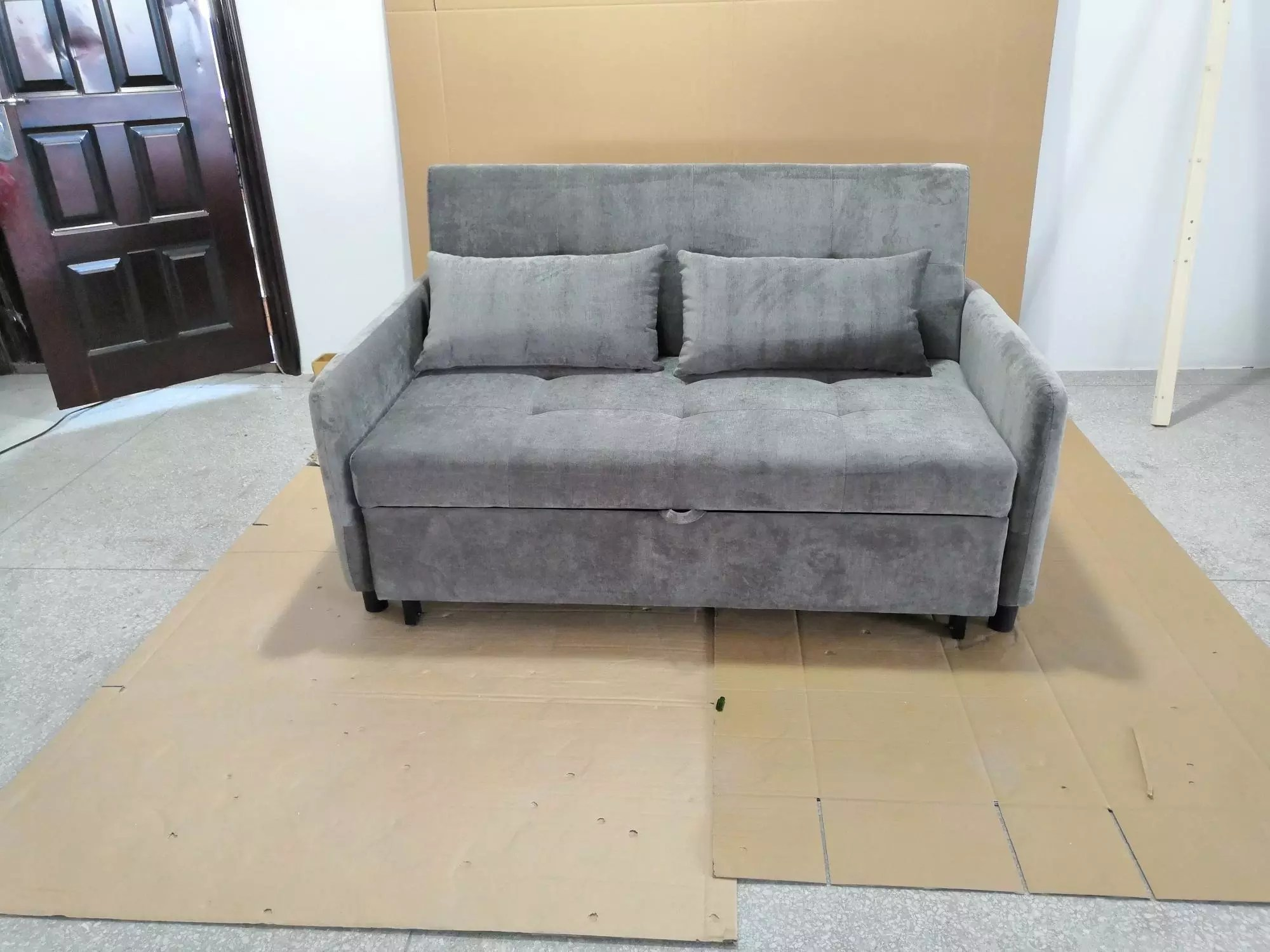 foldable sofa chair malaysia old dining room chairs futon cum bed furniture buy