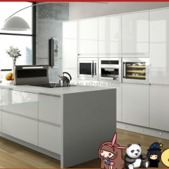 Buy Kitchen Cabinets Overmount Sink White Lacquer High Gloss Finish Cabinet 2 Doors