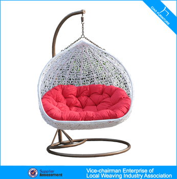 swing chair local leather director rattan outdoor furniture double people hanging buy