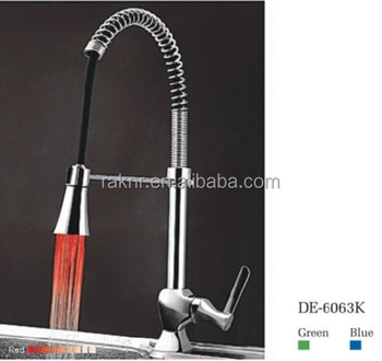 led kitchen faucet garden windows for china with three colors lights buy