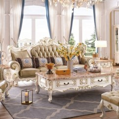 Beautiful Sofa Sets Dania Sofas Portland Top Luxury Royal French Style Wood Set Price For Living Room