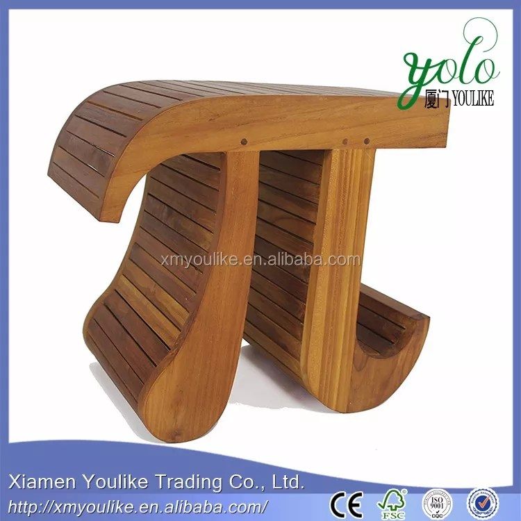 pi en forme de bambou ou teck banc de douche pour salle de bain buy banc en teck antique banc en bambou en forme de pi banc de douche pour salle de