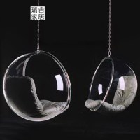 Comfortable Clear Acrylic Egg Shaped Swing Chair - Buy Egg ...