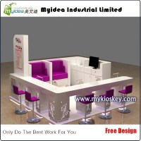 Lovely Nail Shop Design Nail Bar Kiosk With Manicure ...