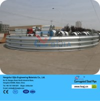 Galvanized And Aluminum Culvert Pipe For Your Landscaping