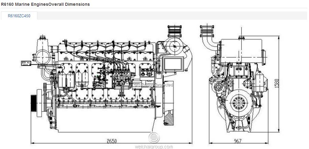 Top Quanlity ! Supply Water-cooled Engine For The Trawler