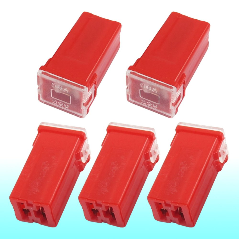 medium resolution of get quotations auto car straight female terminals link pal fuse 50 amp red 5 pcs