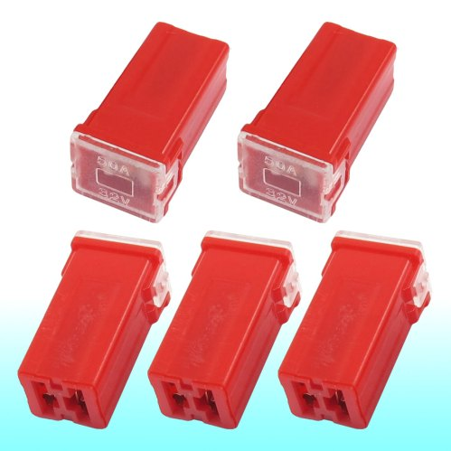 small resolution of get quotations auto car straight female terminals link pal fuse 50 amp red 5 pcs