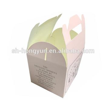 Paper Printed Design Custom Printed Cake Bakery Boxes Wholesale
