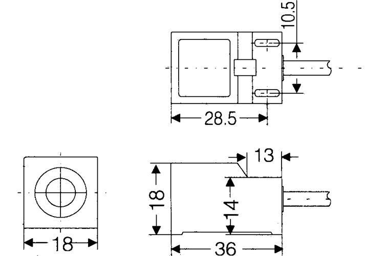Distance Sn04-n2 Npn Inductive Proximity Sensor Oem