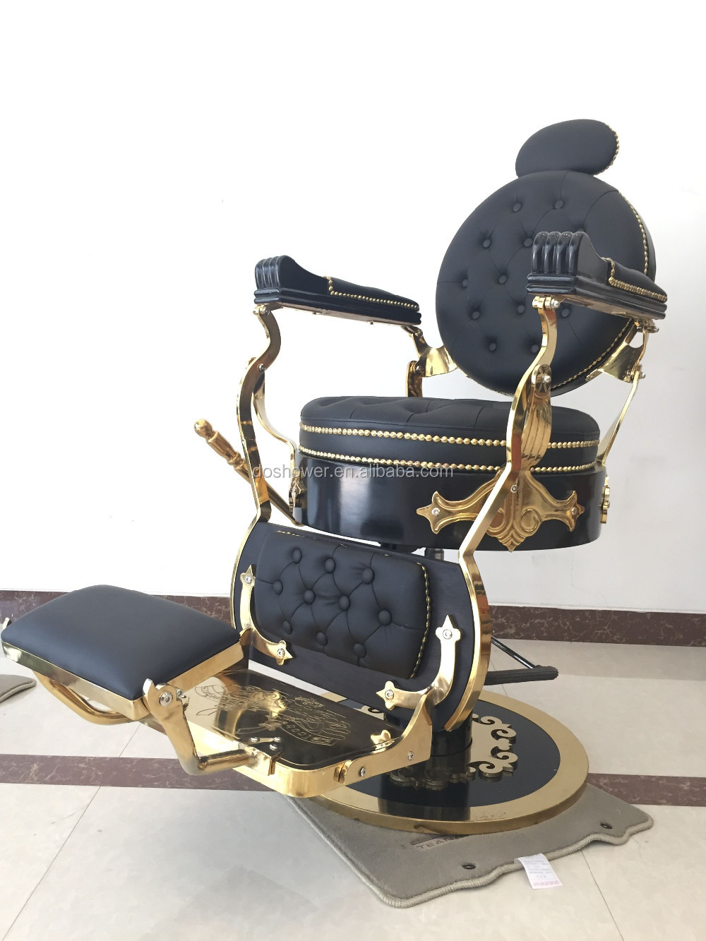 Doshower Barber Chair Dimensions Of Barber Chair Footrest