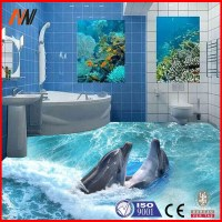 2015 Best Sells 3d Ceramic Floor/wall Tile,3d Bathroom ...
