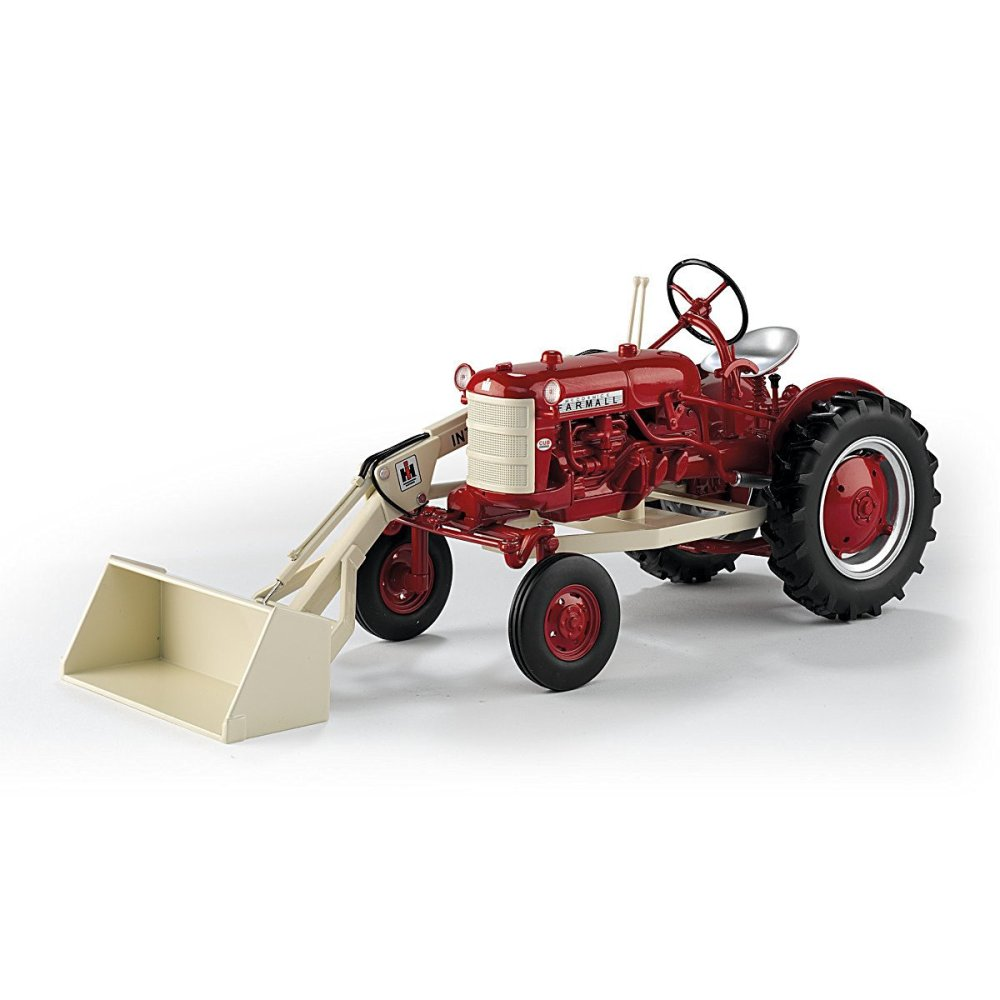 medium resolution of get quotations 1 16 scale 1958 farmall 560 cub diecast tractor with working one arm loader