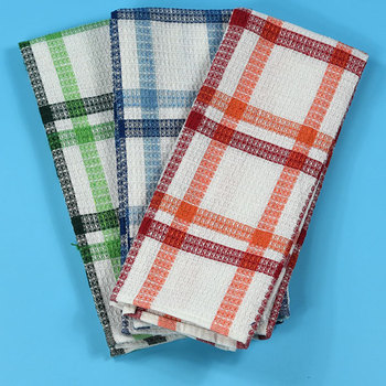 kitchen towels wholesale ikea island cotton white waffle weave towel for dish buy product on alibaba com
