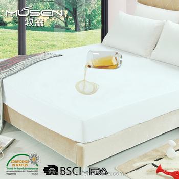Premium Hypoallergenic Crib Waterproof Mattress Protector Cover Vinyl Free