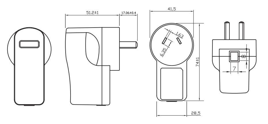 Wholesale Price Free Sample Black Design 5v 6v 7.5v 12v
