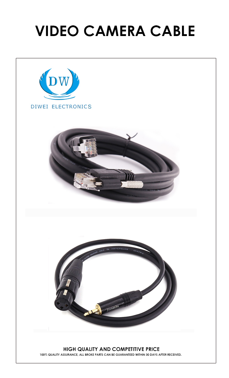 Camera Cable Audio Video Cable Industrial 33 Pin Ecu