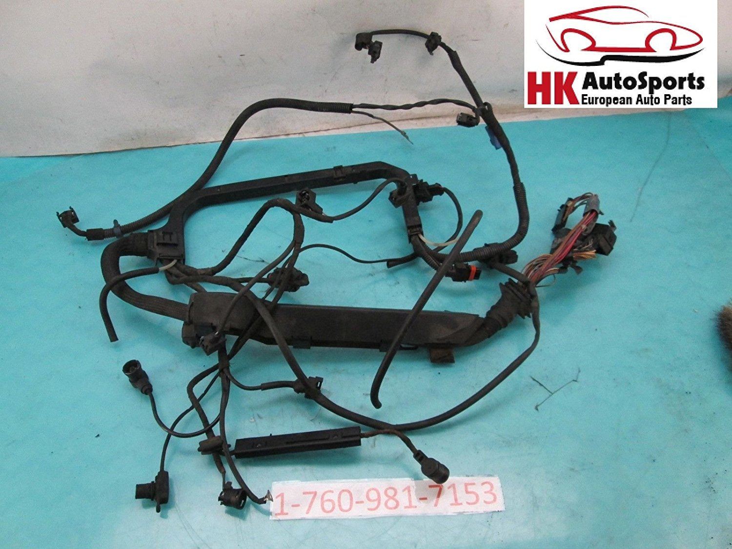 hight resolution of get quotations mercedes benz c230 w202 engine wire wiring harness 2024408106 2 3l oem 1997 1998