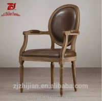 Shabby Chic Chair Louis Side Armchair French Style Dining ...