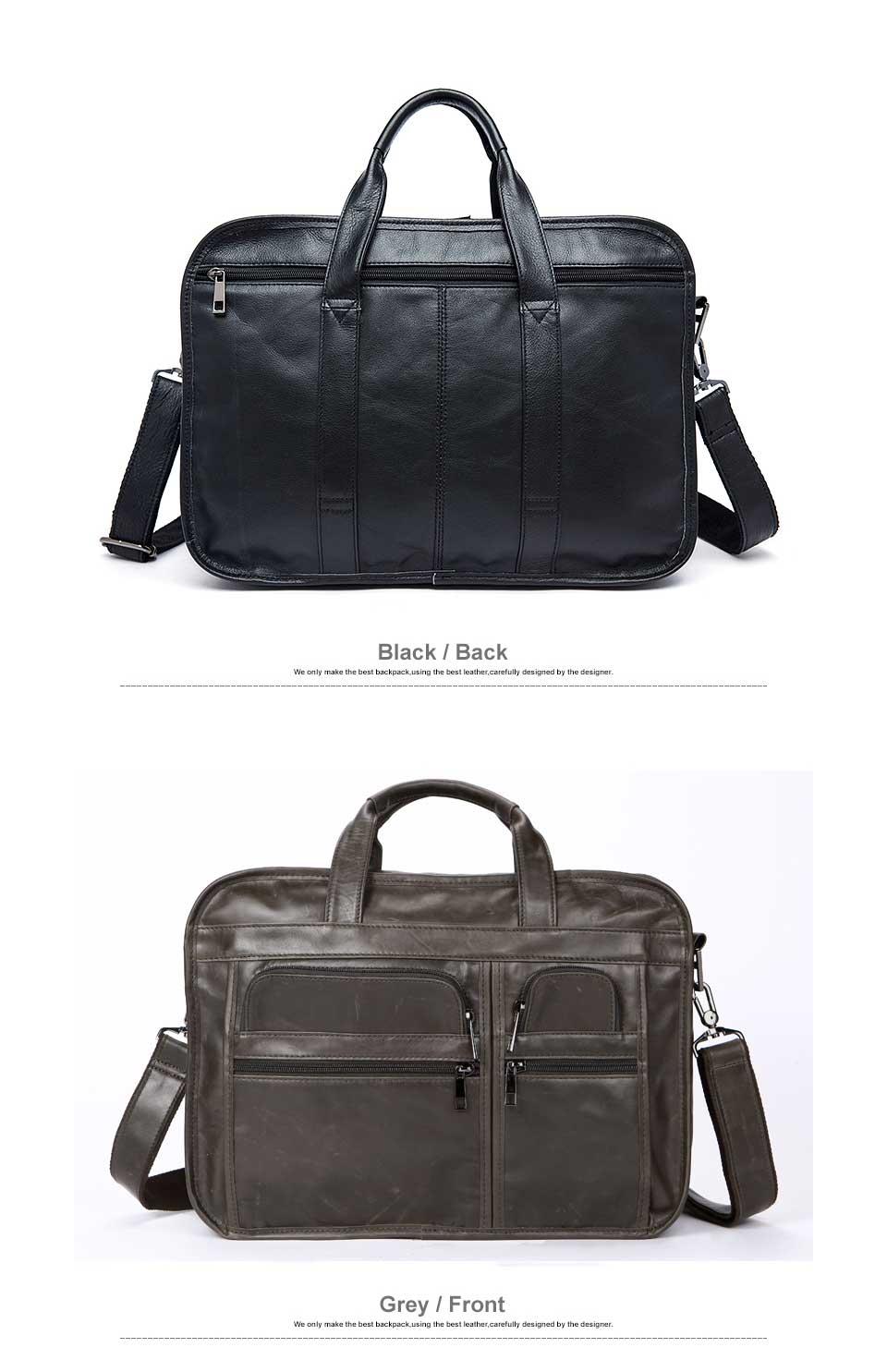 HTB1HjOhg8fH8KJjy1Xbq6zLdXXaE WESTAL men's genuine leather bag for men's briefcase office bags for men leather laptop bag document business briefcase handbag