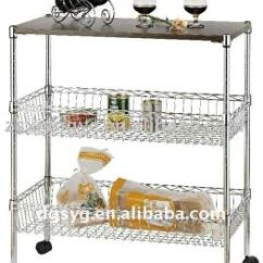 Wire Kitchen Cart The Fat Burning For Fruits And Vegetables Buy Push Carts Product On Alibaba Com