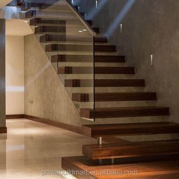 Invisible Stringer Floating Oak Wood Tread Stair Price Buy High | Oak Wood Stair Treads | Hardwood Lumber | Risers | Hardwood Flooring | Solid Oak | Return