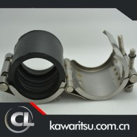 Water Pipe Clamps Pvc Repair Clamp 4 Inch Pipe Rubber Pipe ...
