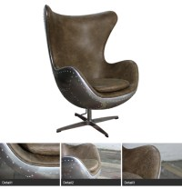 metal egg chair china furniture hand crafted aluminium ...