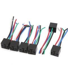 uxcell 6pcs 5 pin plastic window lifter push button switch wire wiring harness cable for car [ 1100 x 1100 Pixel ]