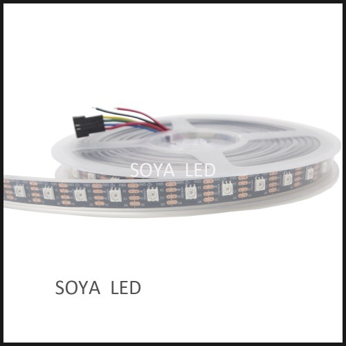 small resolution of spi controlled 4 wires apa102c 60 led digital led strip