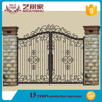 2015 Latest Main Gate Design Cheap Price Simple Modern House Steel