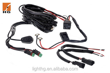 3 Meter Led Light Bar Wire Harness With Switch 1 Wire