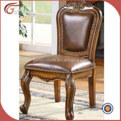 Vintage Wooden Dining Chairs Target Wing Chair Covers Antique Hand Carved Leather A83 Buy