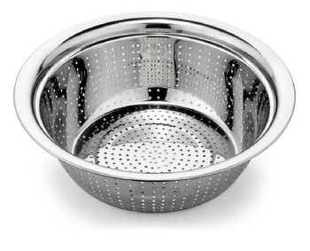 kitchen colander islands that look like furniture stainless steel basket and food fruit vegetable utensils rice wash