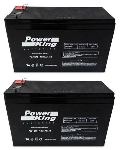 small resolution of get quotations replacement battery for apc back ups rs 1500 kit of 2
