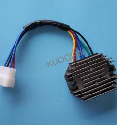 new voltage regulator rectifier for kubota grasshopper rs5101 rs5155 6 wire buy motorcycle voltage regulator rectifier 12v motorcycle voltage  [ 1000 x 1000 Pixel ]