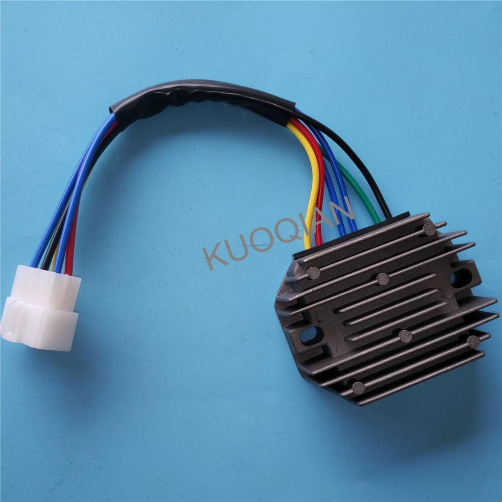 medium resolution of new voltage regulator rectifier for kubota grasshopper rs5101 rs5155 6 wire buy motorcycle voltage regulator rectifier 12v motorcycle voltage